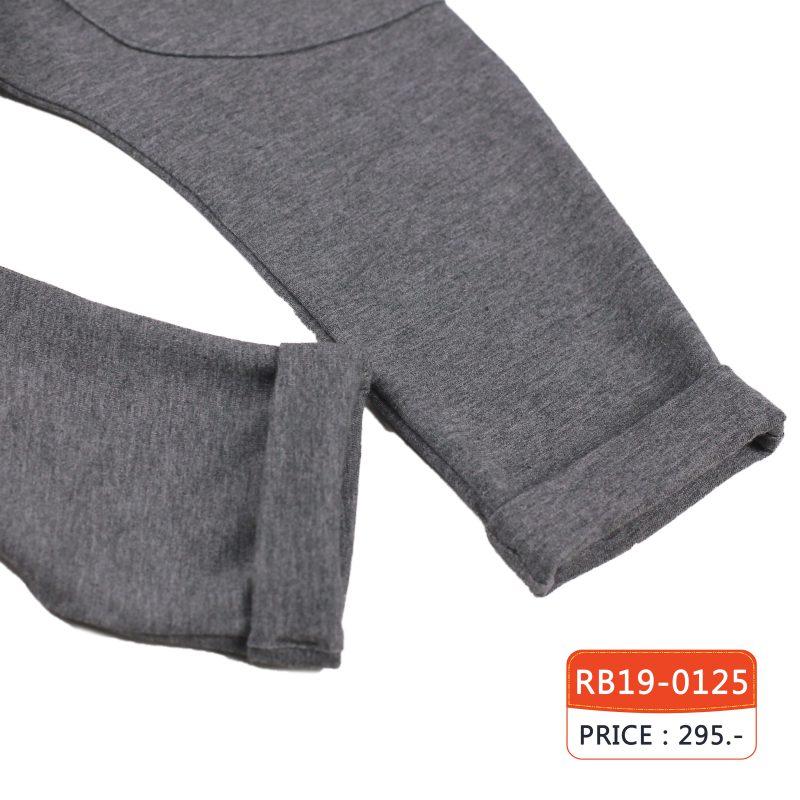 กางเกงขายาว สีเทาลาย