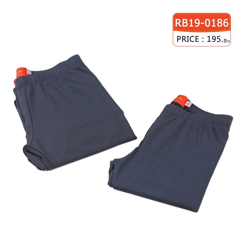 กางเกงขายาว Legging สีกรม