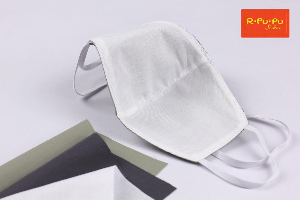 หน้ากากผ้ากันน้ำ ผลิตในไทย กันน้ำ ด้านใน